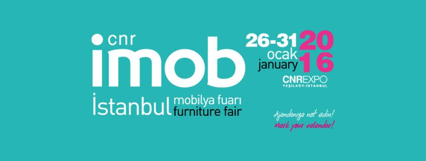 İmob 2016 Mobilya Fuarı Tarihi